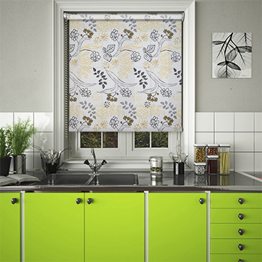 Folia Sunflower Roller Blinds. Folia Sunflower