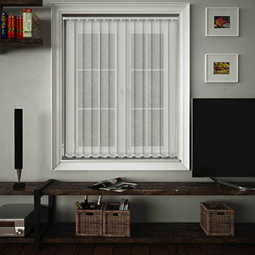 Buy Voile White Vertical Blinds At Value For Money Prices
