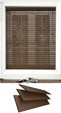 100 Waterproof Fauxwood Wooden Blinds Ukbuy Made To Measure Online