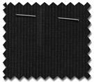 Pinstripe Black Roller Blind