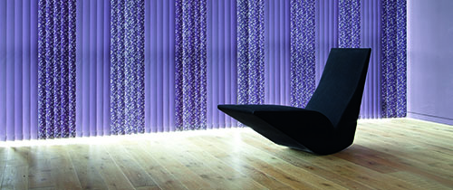 inch by blind post slats purple replacement unicolour vertical blinds